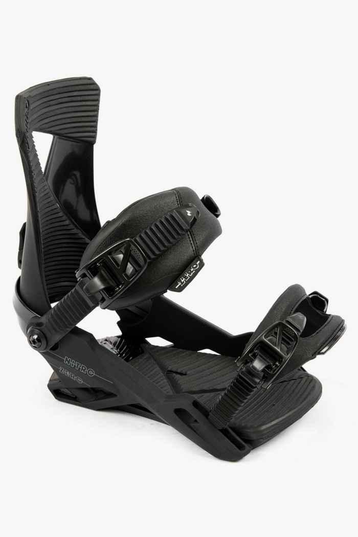 Nitro Zero Herren Snowboardbindung Farbe Schwarz 1