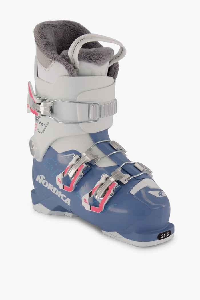 Nordica Speedmachine J3 chaussures de ski filles Couleur Bleu 1