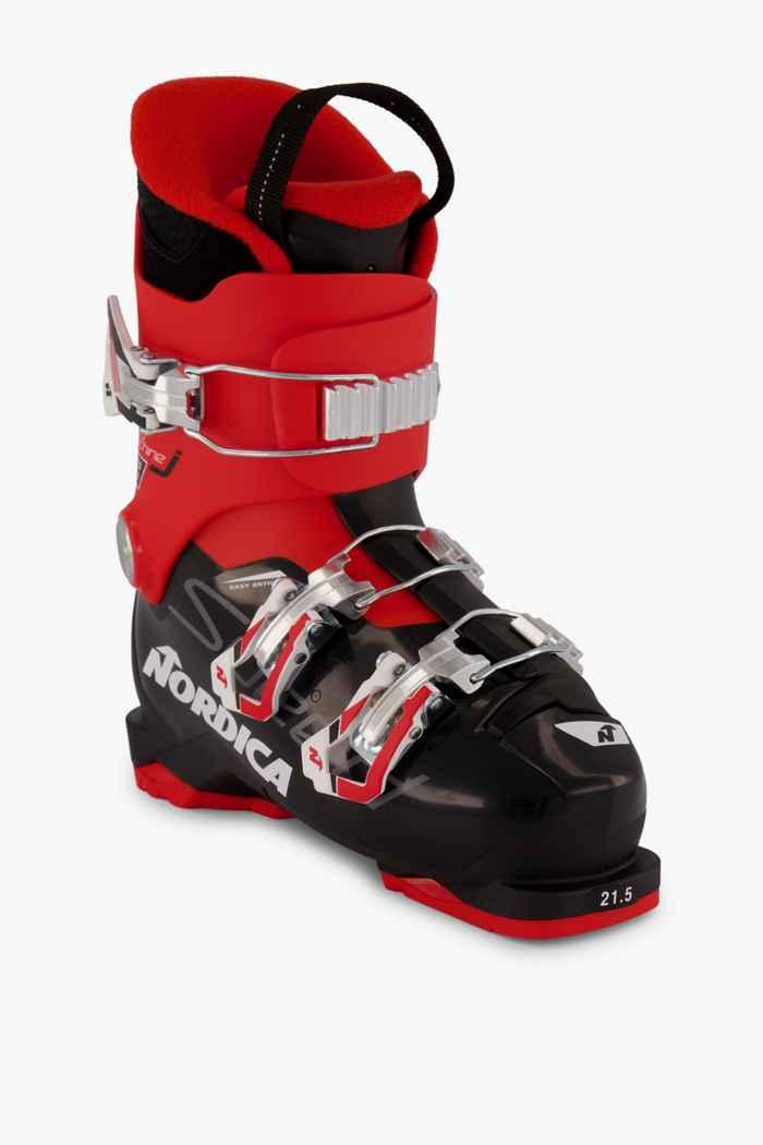 Nordica Speedmachine J3 Kinder Skischuh Farbe Schwarz-rot 1