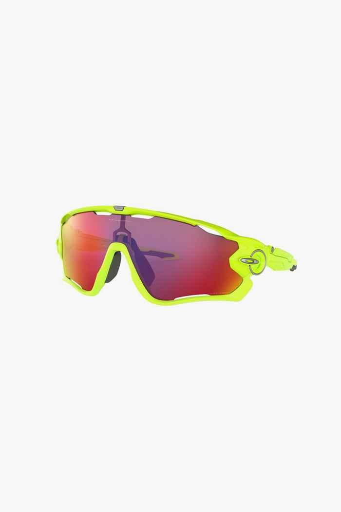 Oakley Jawbreaker Sportbrille Farbe Gelb 1