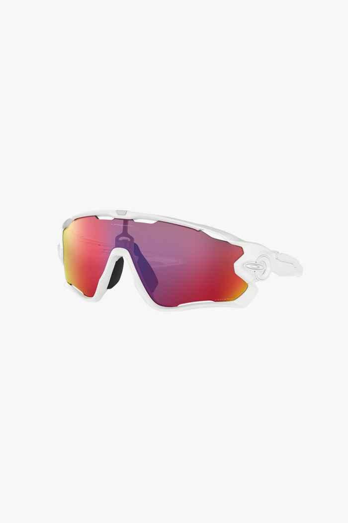 Oakley Jawbreaker Sportbrille Farbe Weiß 1