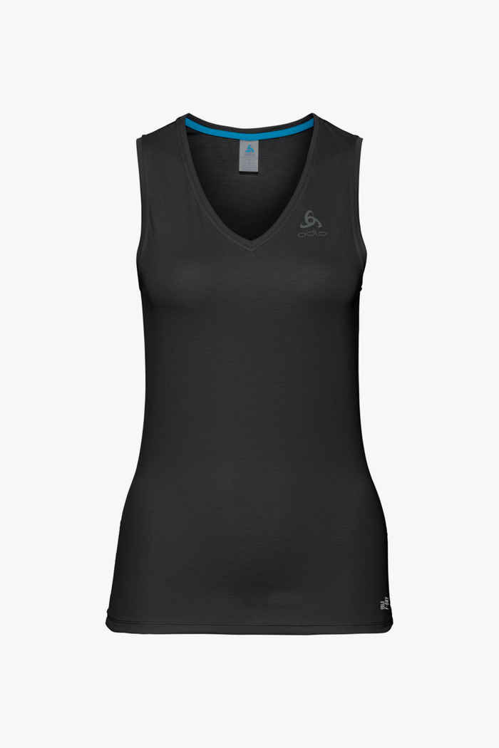 Odlo Active F-Dry Light ECO Damen Thermoshirt Farbe Schwarz 1