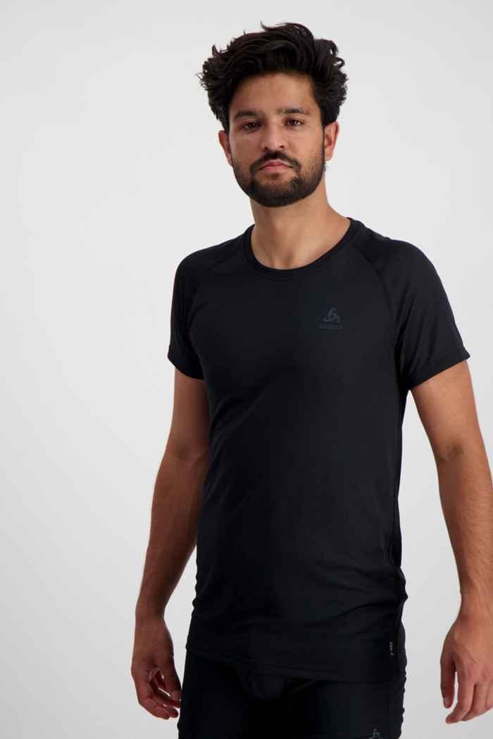Odlo Active F-Dry Light ECO Herren Thermoshirt Farbe Schwarz 1