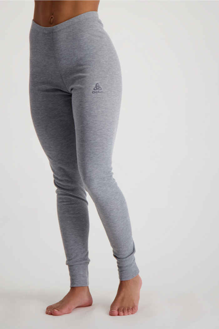 Odlo Active Warm ECO Damen Thermohose Farbe Grau 1