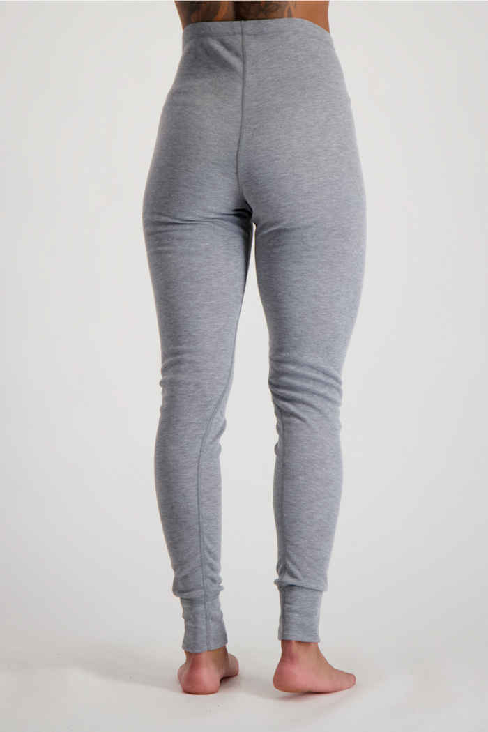 Odlo Active Warm ECO Damen Thermohose Farbe Grau 2