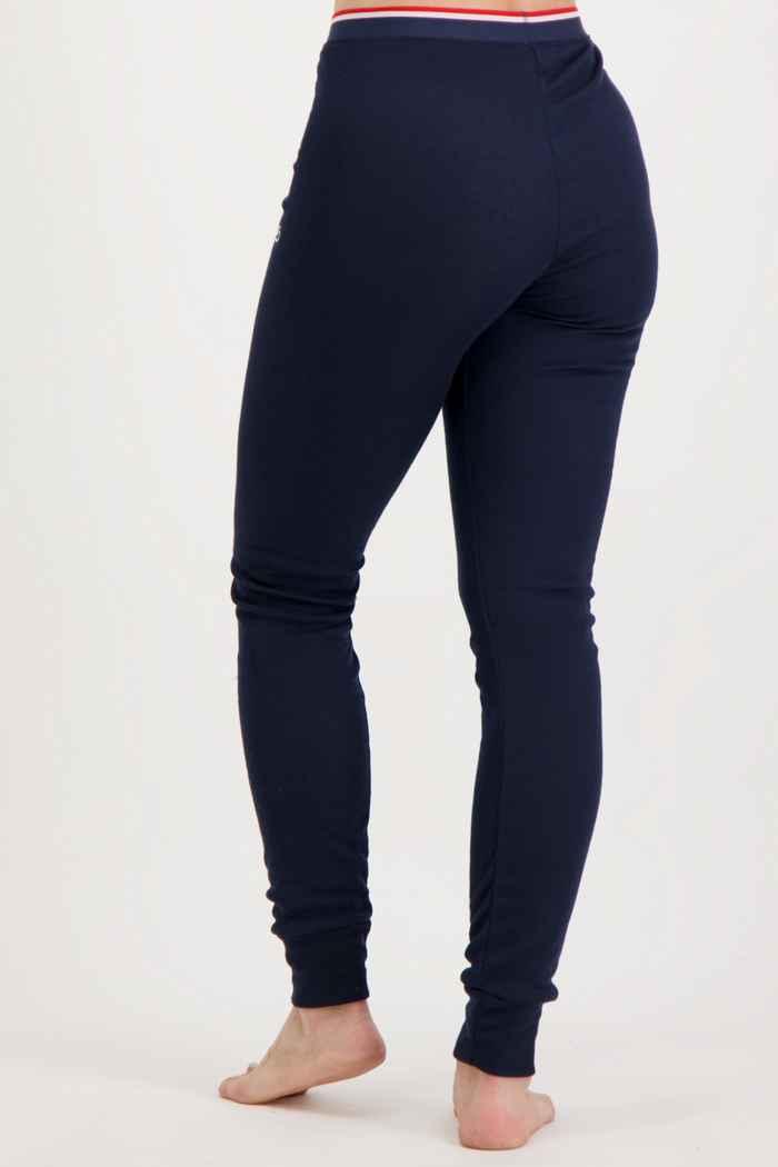 Odlo Active Warm Originals ECO Damen Thermohose Farbe Navyblau 2
