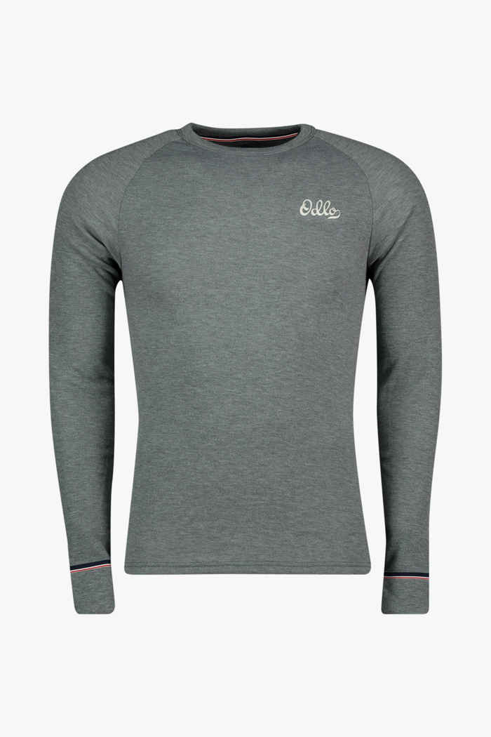 Odlo Active Warm Originals ECO Herren Thermo Longsleeve Farbe Grau 1