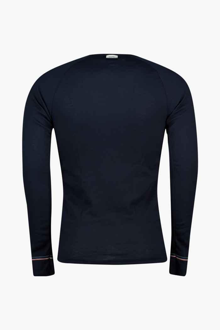 Odlo Active Warm Originals ECO Herren Thermo Longsleeve Farbe Navyblau 2