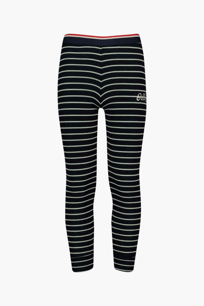 Odlo Active Warm Originals ECO Stripes Kinder Thermohose 1