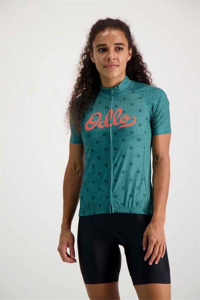 Odlo Element maillot de bike femmes Couleur Vert 1