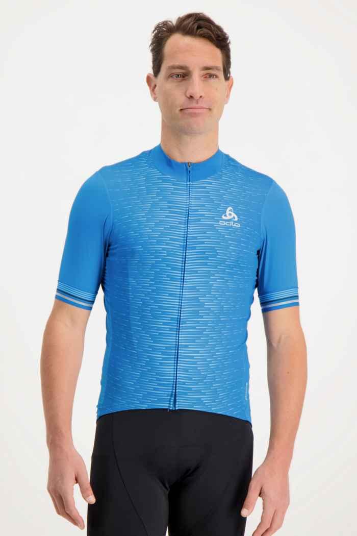 Odlo Fujin Ceramicool Herren Biketrikot Farbe Blau 1