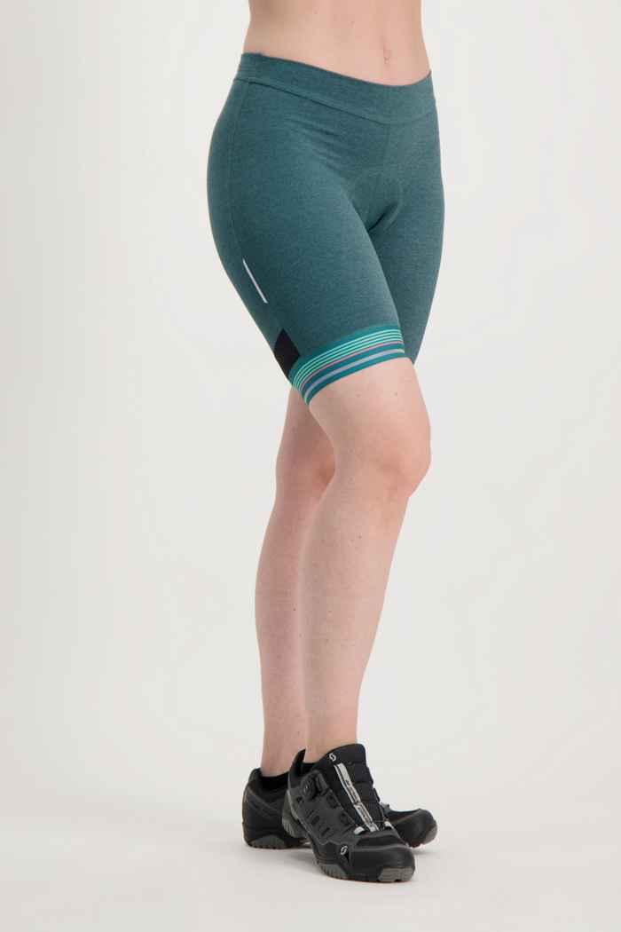Odlo Fujin Zeroweight Damen Bikeshort Farbe Grün 1