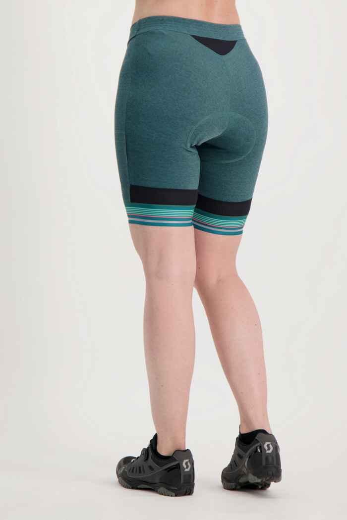 Odlo Fujin Zeroweight Damen Bikeshort Farbe Grün 2