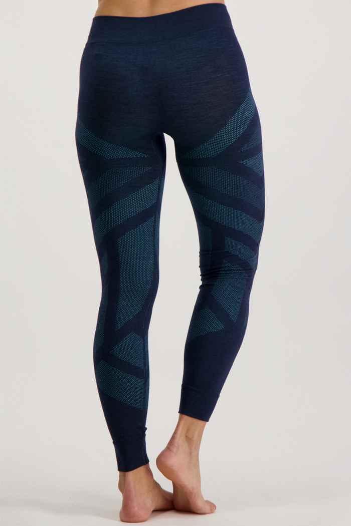 Odlo Natural + Kinship Warm pantalon thermique femmes Couleur Bleu pétrole 2
