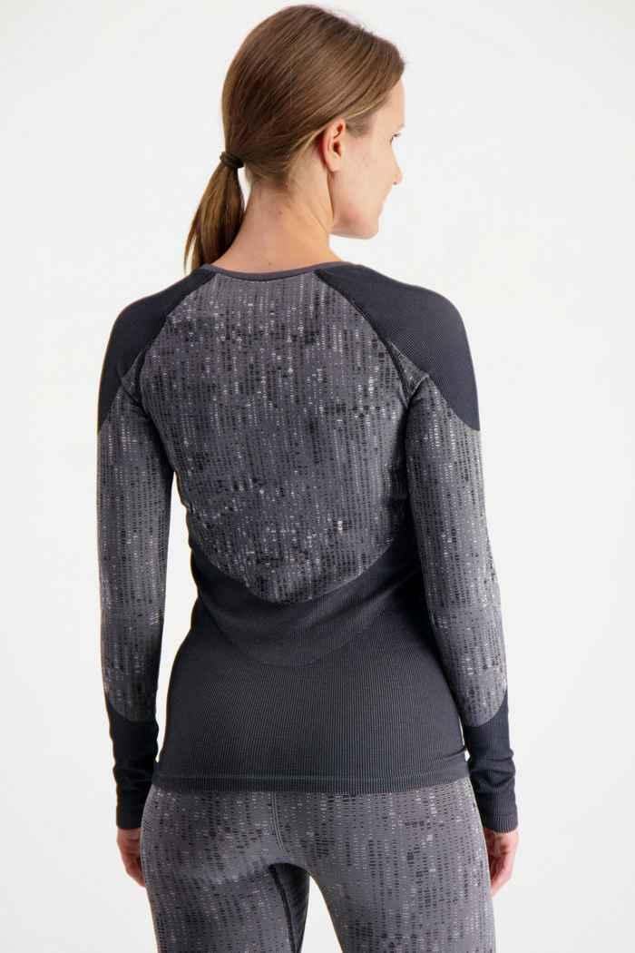 Odlo Performance Blackcomb Damen Thermo Longsleeve Farbe Anthrazit 2
