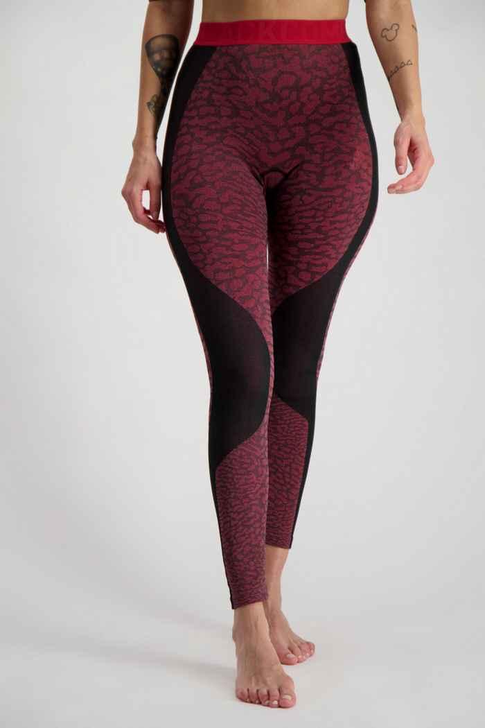 Odlo Performance Blackcomb Damen Thermohose Farbe Rot 1