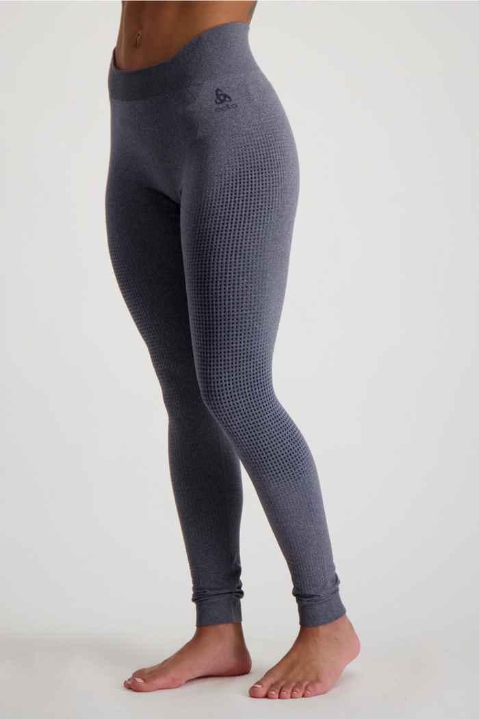 Odlo Performance Warm ECO Damen Thermohose Farbe Grau 1