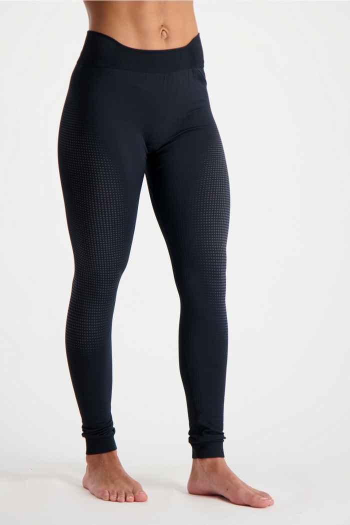 Odlo Performance Warm ECO Damen Thermohose Farbe Schwarz 1