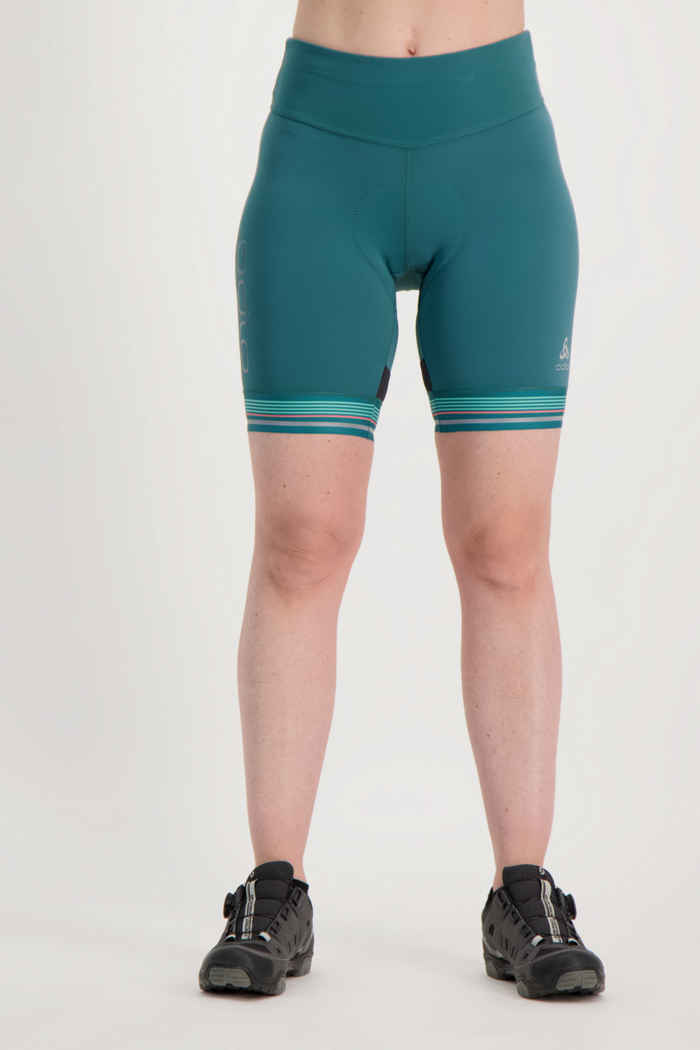 Odlo Zeroweight Ceramicool Pro Damen Bikeshort 1