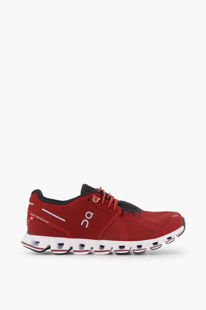 On Cloud chaussures de course femmes Couleur Rubis 2