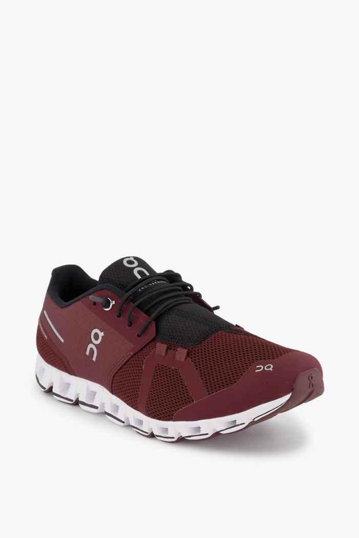 On Cloud chaussures de course hommes Couleur Bordeaux 1