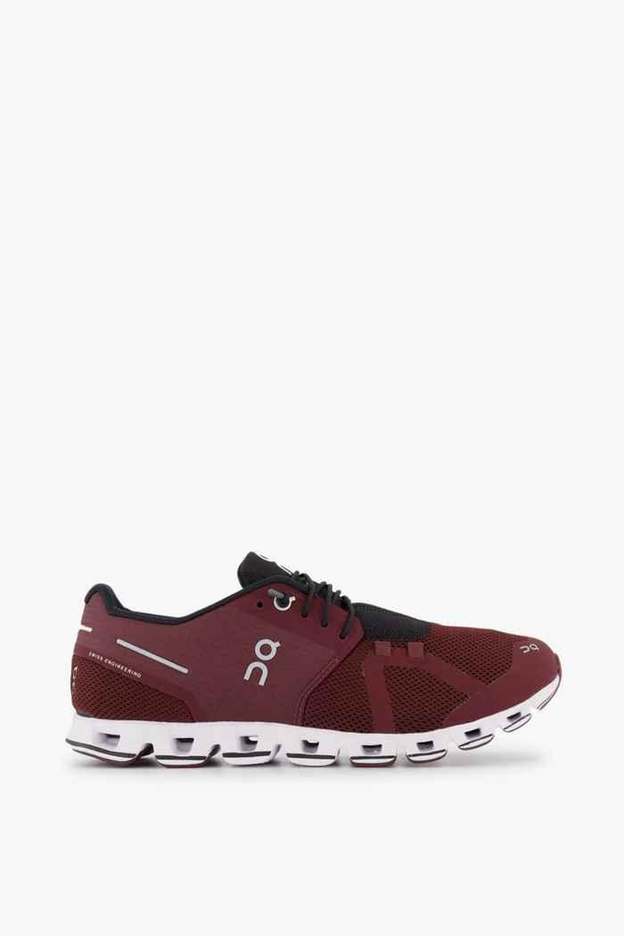 On Cloud chaussures de course hommes Couleur Bordeaux 2