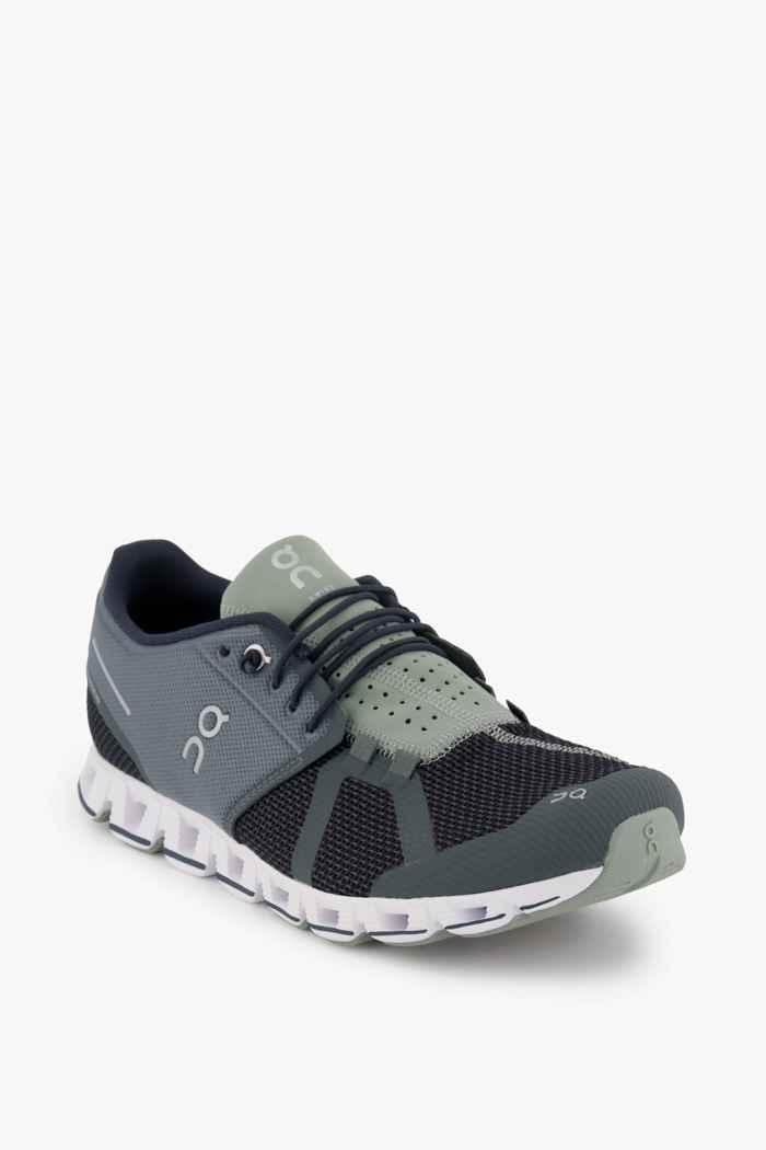 On Cloud chaussures de course hommes Couleur Noir/gris 1