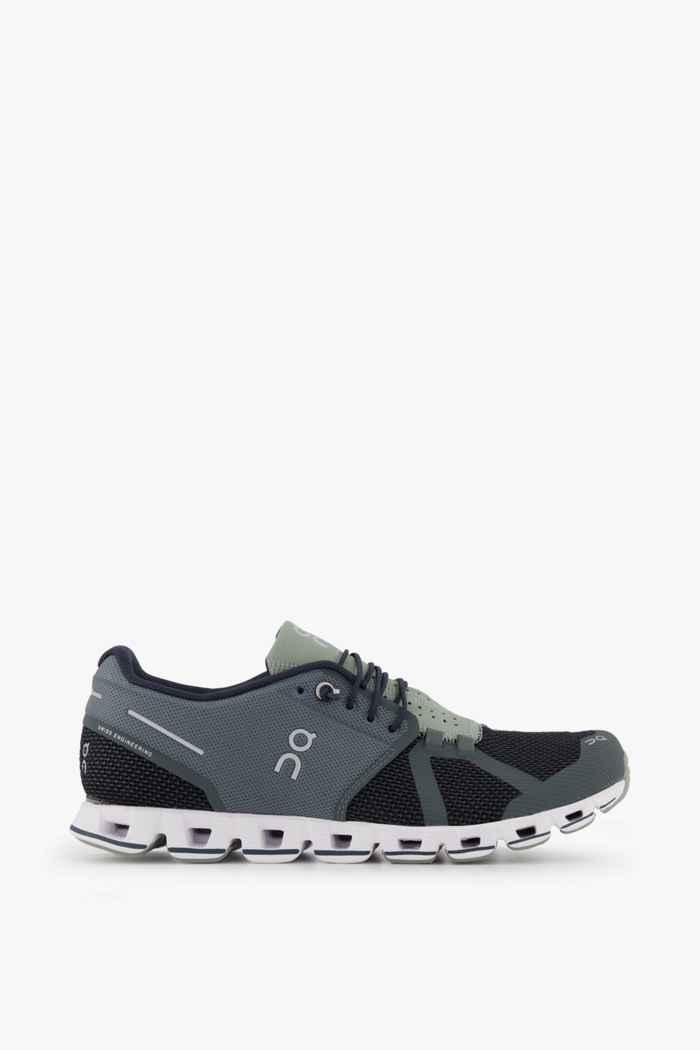 On Cloud chaussures de course hommes Couleur Noir/gris 2