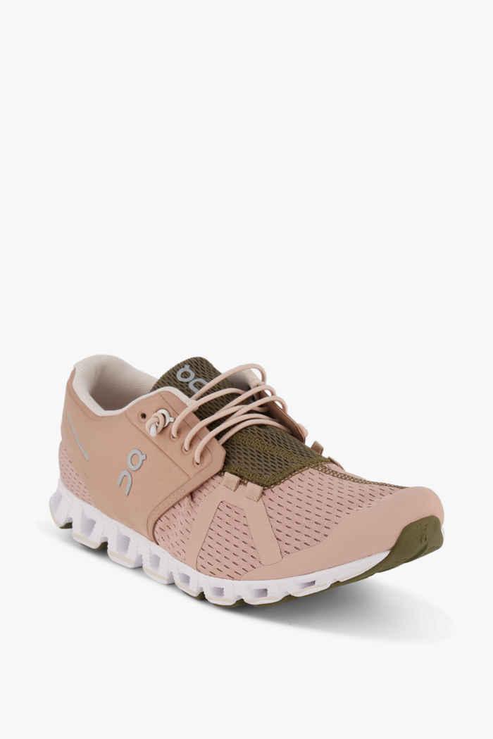 On Cloud Damen Laufschuh Farbe Rosa 1