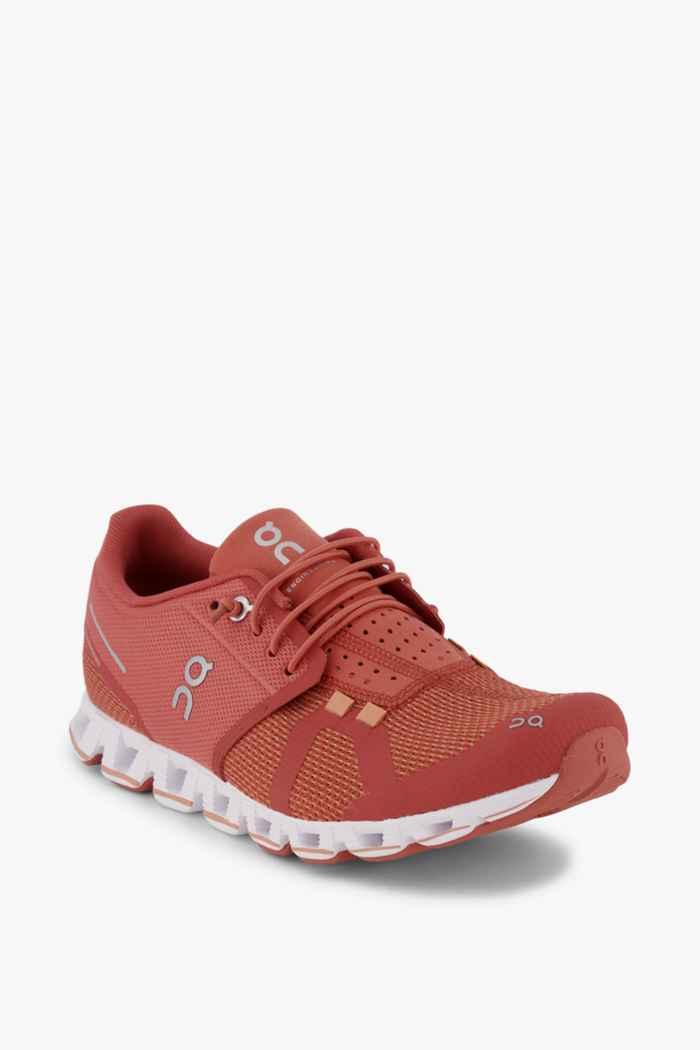 On Cloud Damen Laufschuh Farbe Rot 1