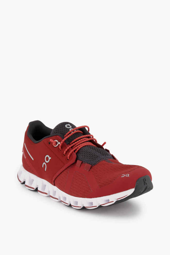 On Cloud Damen Laufschuh Farbe Rubinrot 1