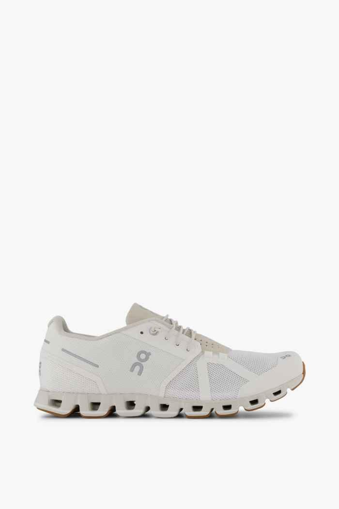 On Cloud Herren Laufschuh Farbe Weiß 2