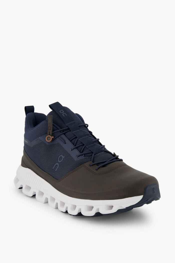 On Cloud Hi chaussures de randonnée hommes Couleur Brun foncé 1