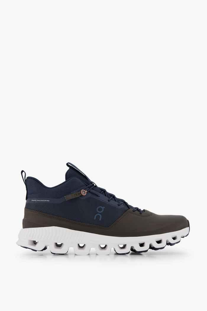 On Cloud Hi chaussures de randonnée hommes Couleur Brun foncé 2