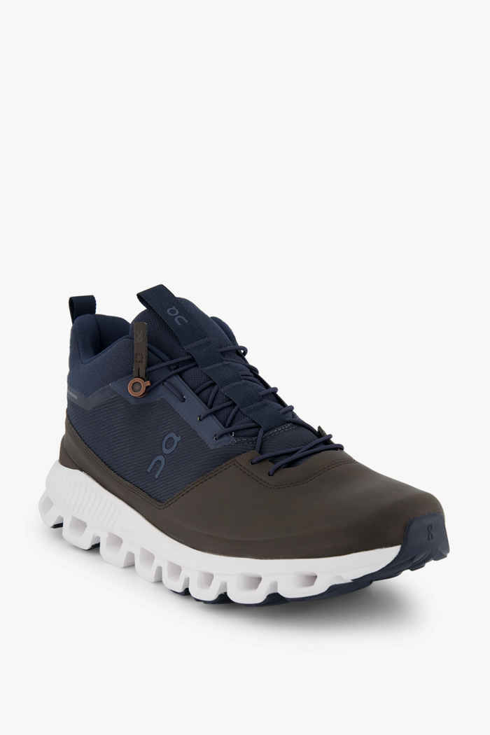 On Cloud Hi scarpe da trekking uomo Colore Marrone scuro 1
