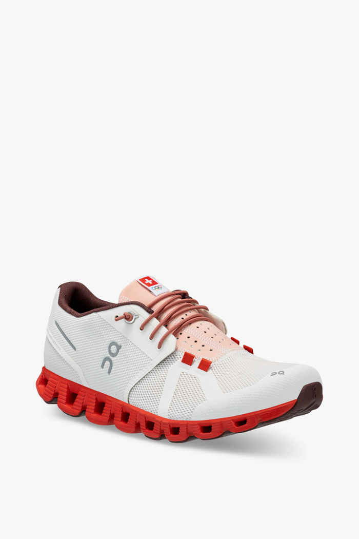 On Cloud Swiss Olympic chaussures de course femmes 1