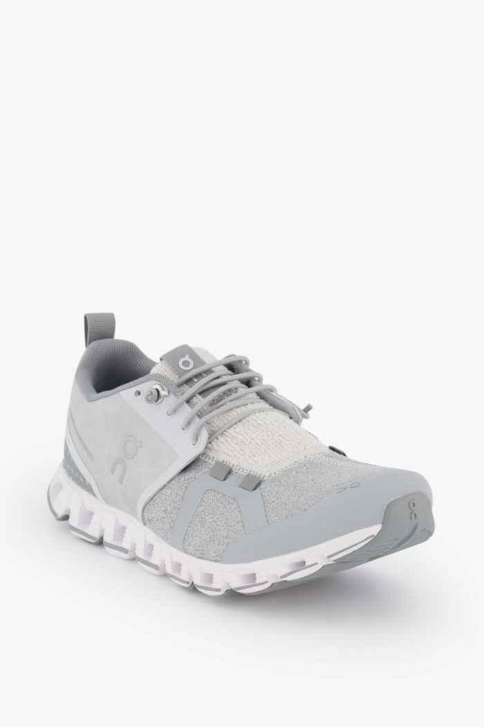 On Cloud Terry chaussures de course femmes Couleur Argent 1