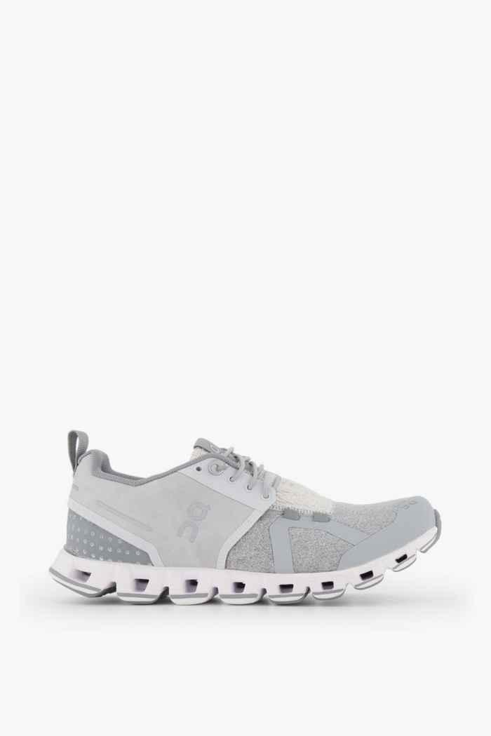 On Cloud Terry chaussures de course femmes Couleur Argent 2