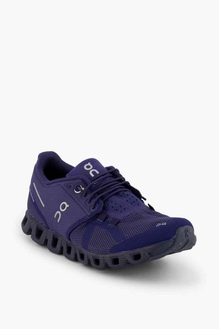 On Cloud Terry chaussures de course femmes Couleur Bleu foncé 1