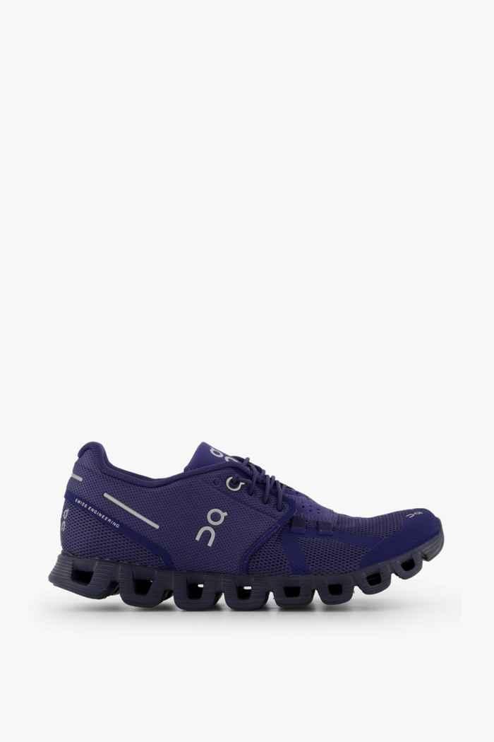 On Cloud Terry chaussures de course femmes Couleur Bleu foncé 2