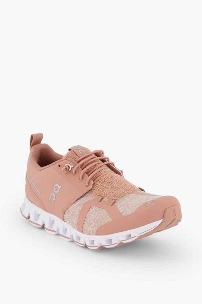 On Cloud Terry chaussures de course femmes Couleur Coral 1