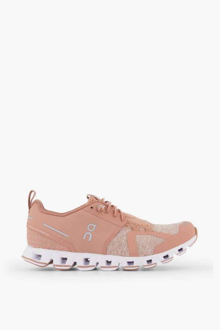 On Cloud Terry chaussures de course femmes Couleur Coral 2