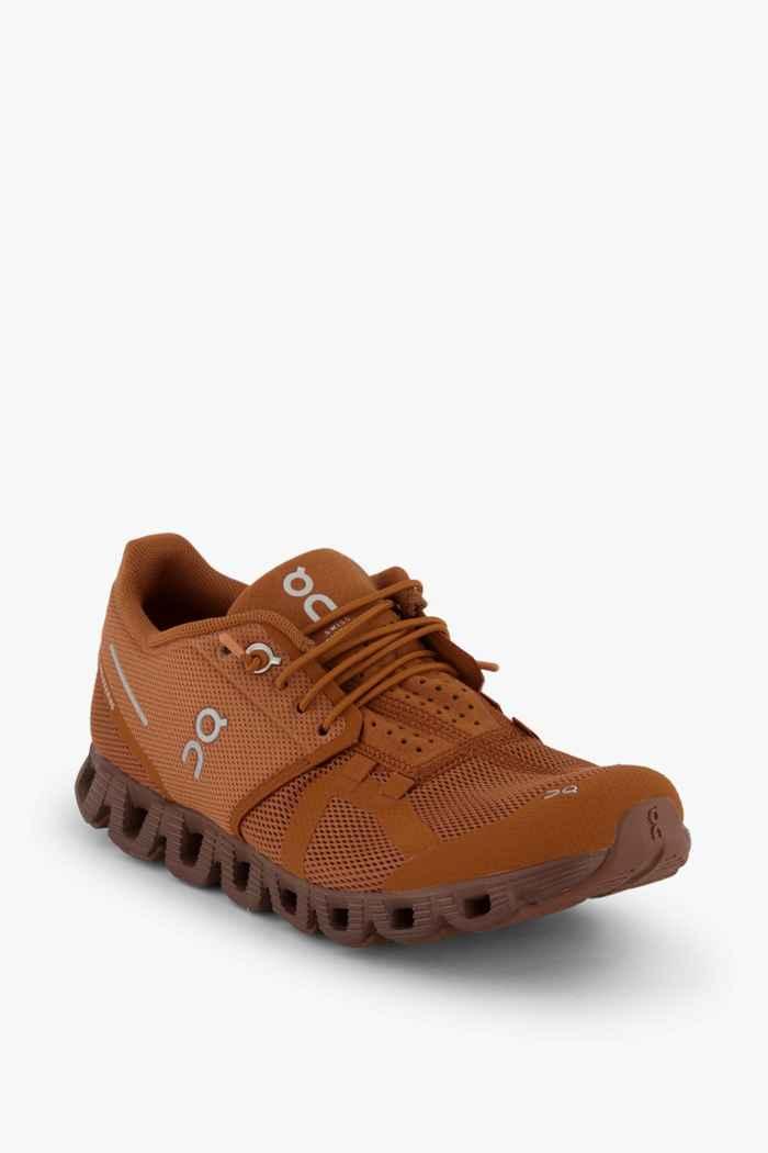 On Cloud Terry chaussures de course femmes Couleur Marron 1