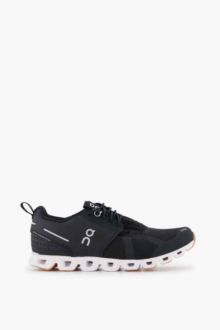 On Cloud Terry chaussures de course femmes Couleur Noir-blanc 2
