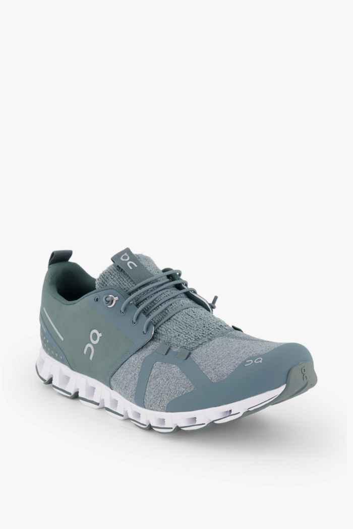 On Cloud Terry chaussures de course hommes Couleur Olive 1