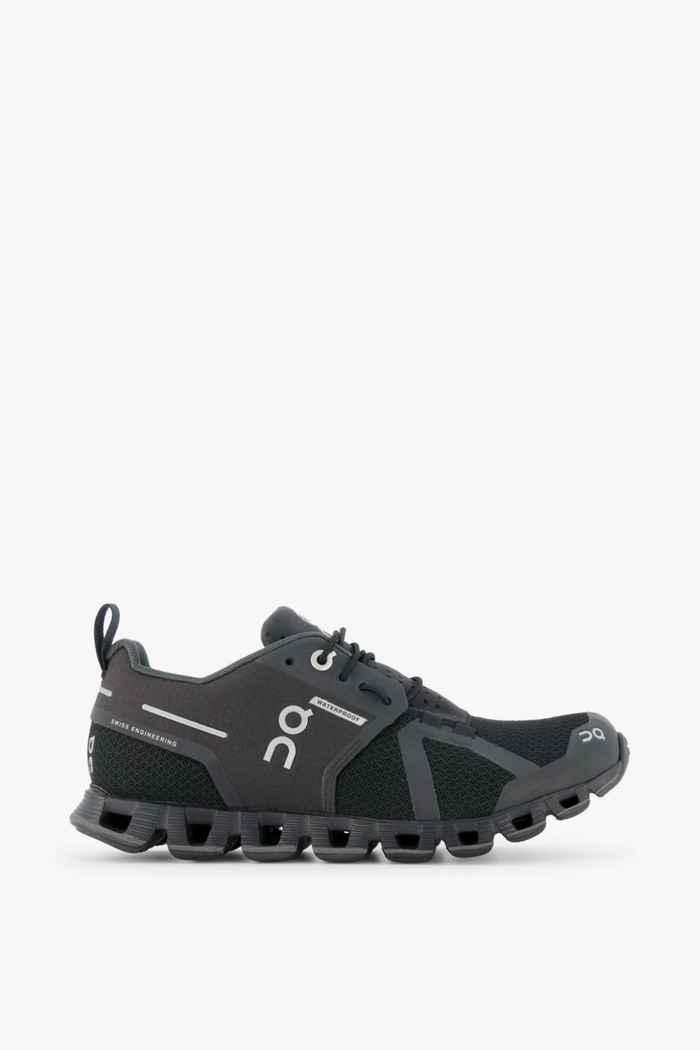 On Cloud Waterproof chaussures de course femmes Couleur Noir 2