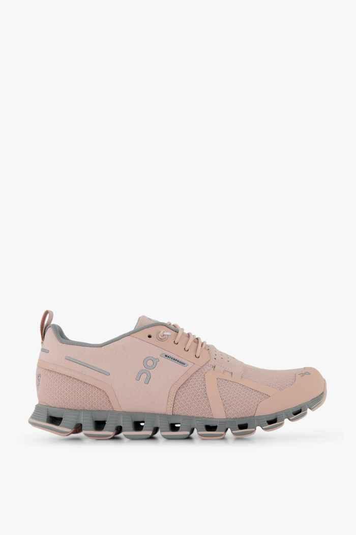 On Cloud Waterproof chaussures de course femmes Couleur Rose 2