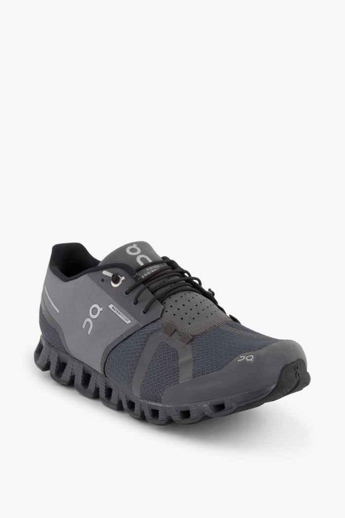 On Cloud Waterproof chaussures de course hommes Couleur Gris 1