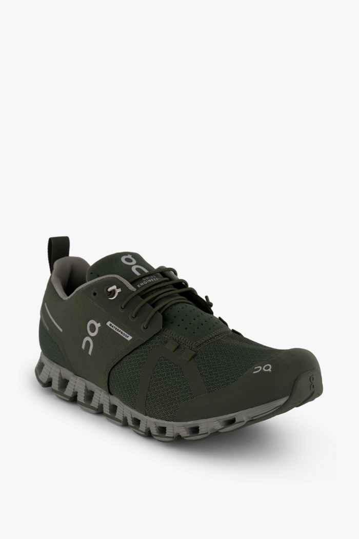 On Cloud Waterproof chaussures de course hommes Couleur Vert 1
