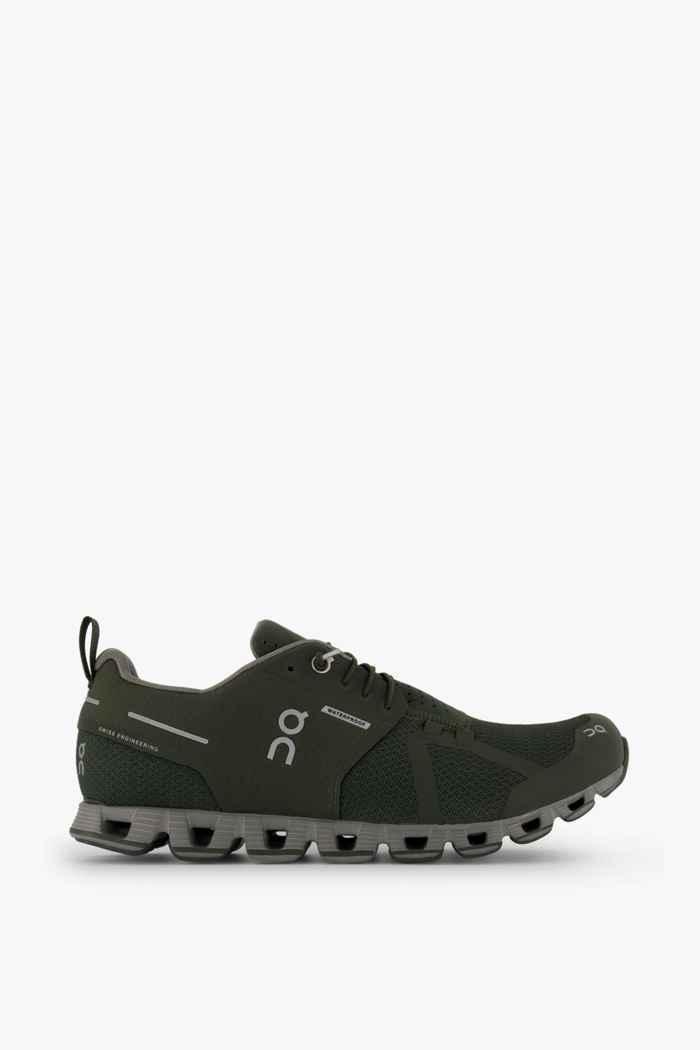 On Cloud Waterproof chaussures de course hommes Couleur Vert 2